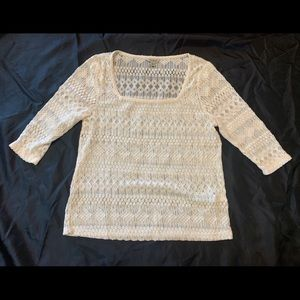 Small Lucky Brand lace top